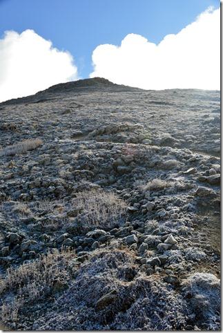 False summits like this can make the top feel far away