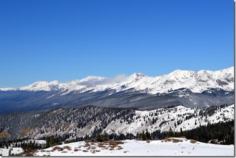 Cottonwood's inspiring summit view