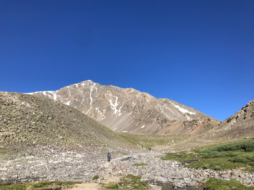Torreys from the main Grays-Torreys trail